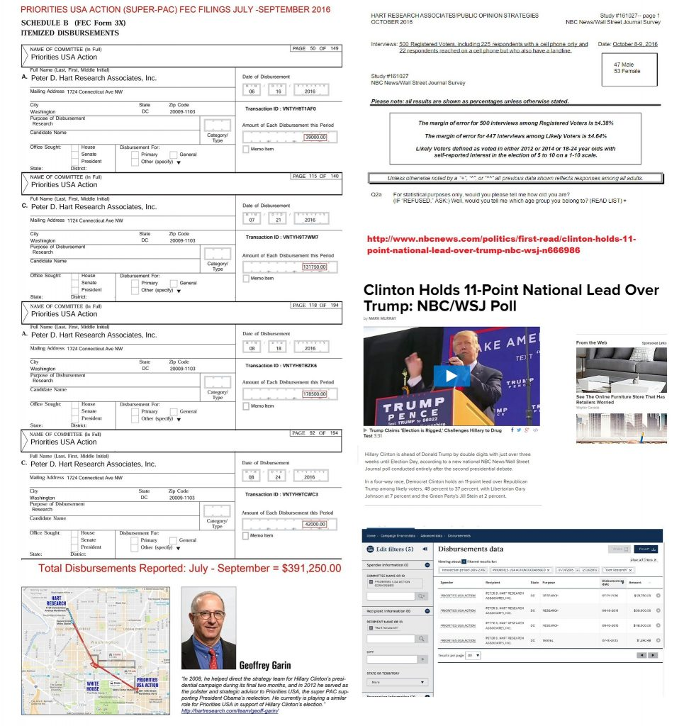 Superpac paid for polls 965x1024 - Who ARE the Hillary supporters?